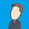 Steve profile blue bkgd short.png