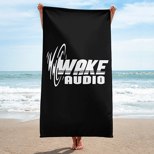Wake Audio Beach Towel