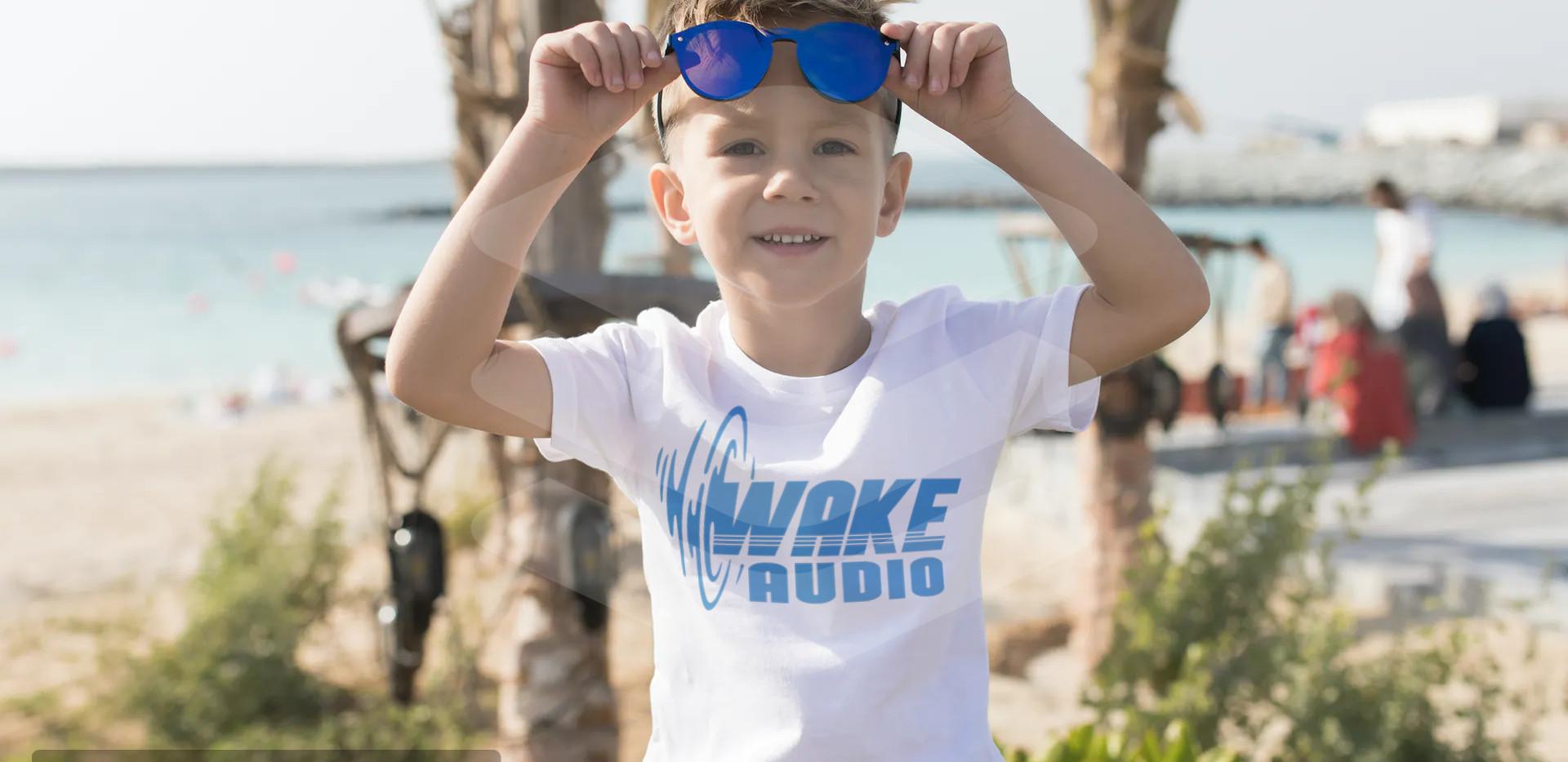 Wake Audio T-shirt (kids)