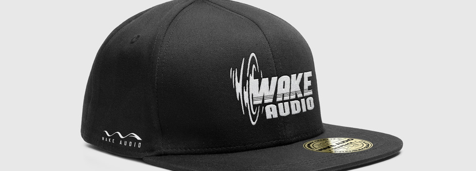 Wake Audio fitted cap