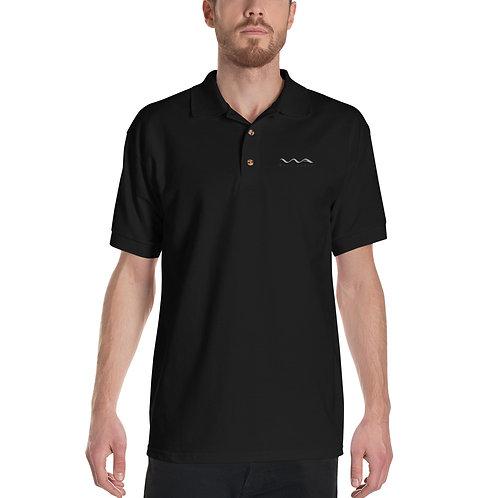 Wake Audio Embroidered Polo Shirt