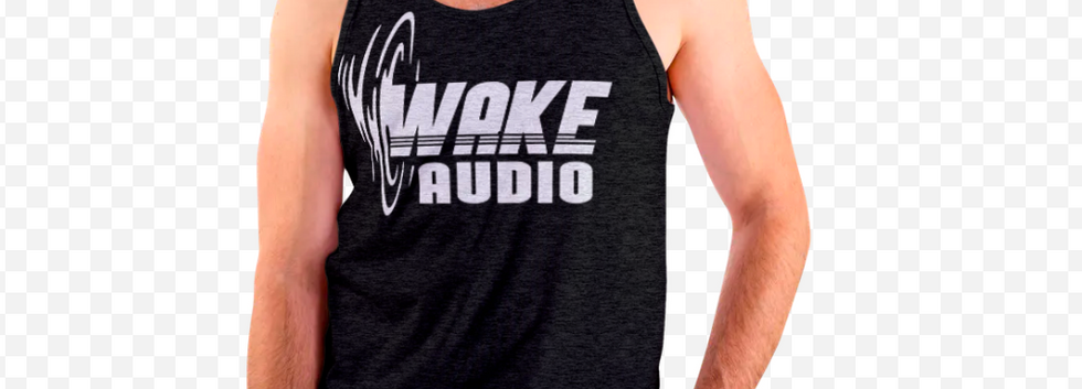 Wake Audio Tank Top (Black)