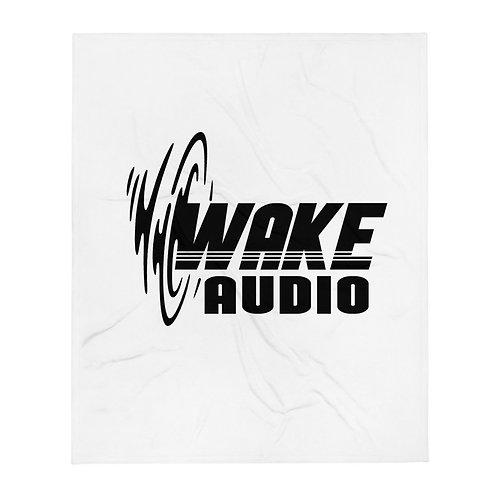 Wake Audio Throw Blanket