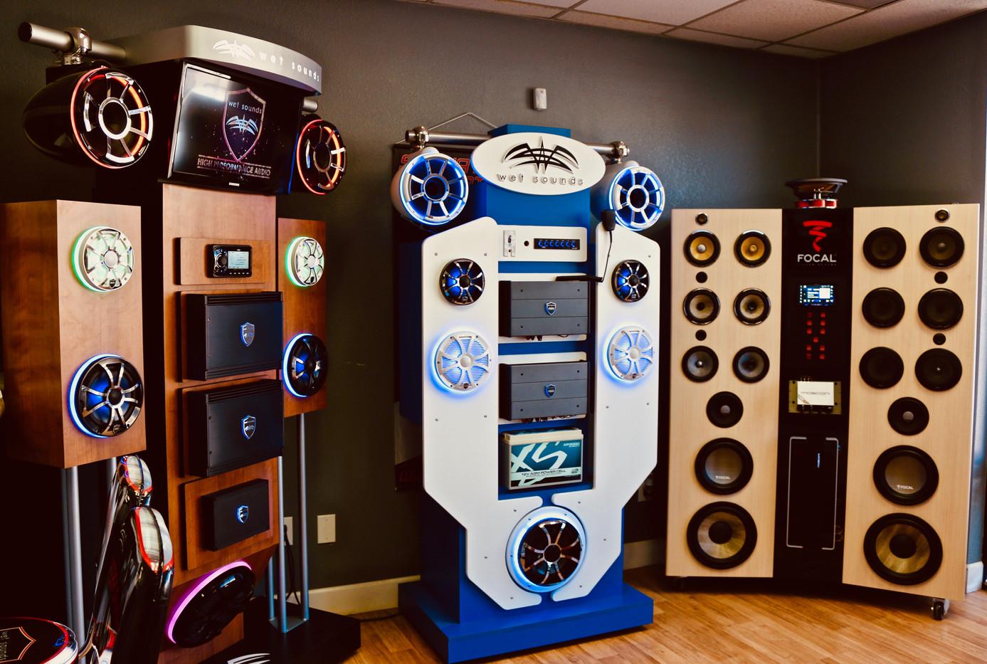 Wake Audio Speaker Display