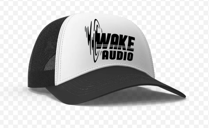 Wake Audio Trucker Hat (White)