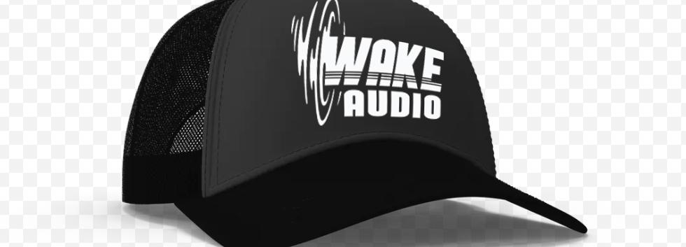 Wake Audio Trucker Hat (Black)