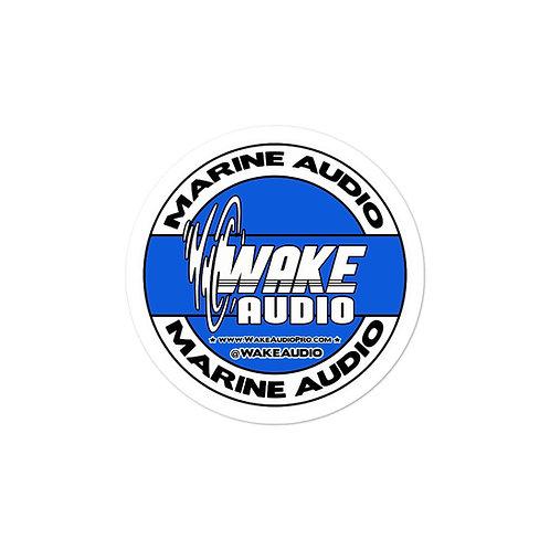 Wake Audio - Bubble-free stickers