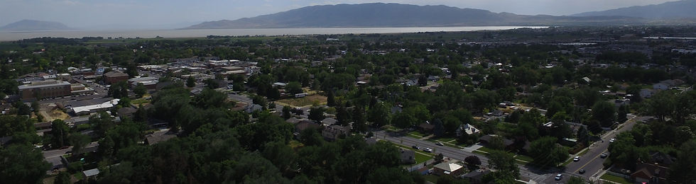 American Fork City Aerial, City Council Candidate Staci Carroll