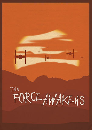 The Force Awakens Fan Poster