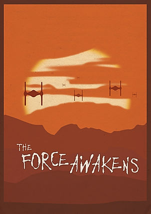 The Force Awakens Fan Poster