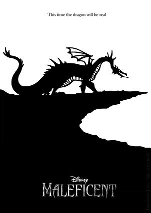 Maleficent Fan Poster