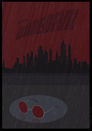 Daredevil Fan Poster