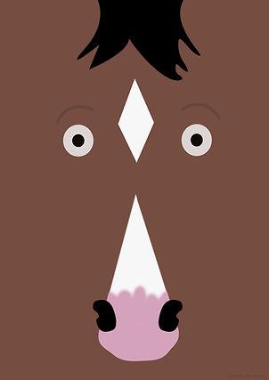 Bojack Horseman Fan Poster