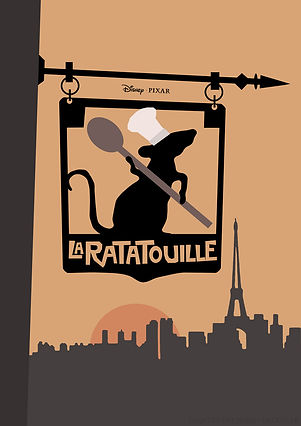 Ratatouille Fan Poster