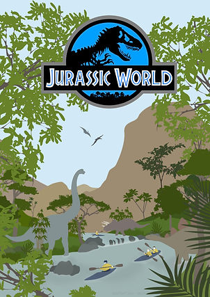 Jurassic World Fan Poster