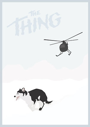 The Thing Fan Poster