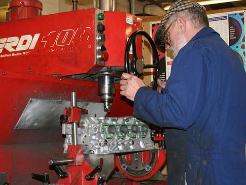 Working on a valve job