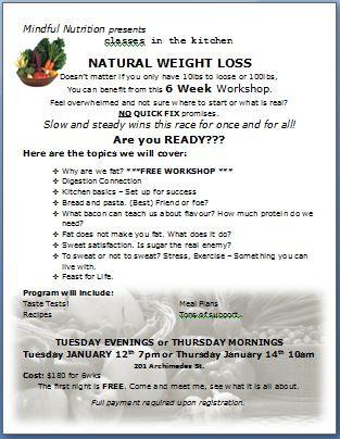 6 Week Natural Weight Loss