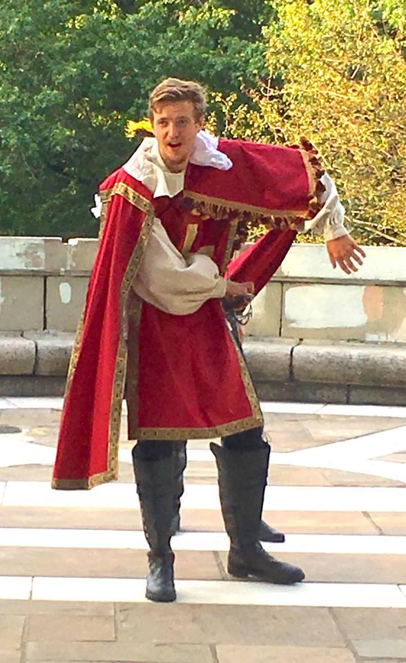 Finn Kilgore as Jussac in 3 Musketeers