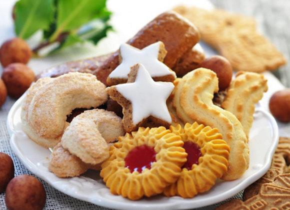 Weihnachtskekse gemischt in der Tasse oder in Geschenksverpackung ab 150g