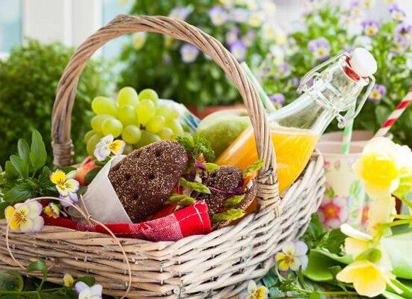 Brunchkorb    Fleisch/Wurst / Käse (vegetarisch) / Vegan