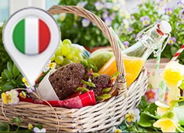 Picknick-Korb Buongiorno Italia (Preis für 2 Personen = Mindestbestellmenge)