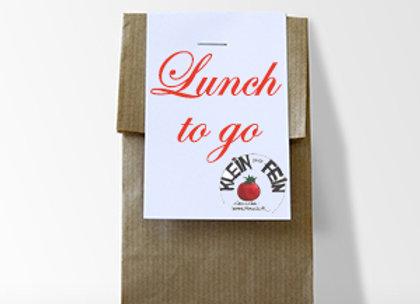 """Lunch """"einfach"""" im Sackerl"""