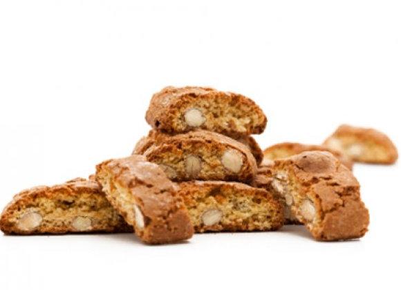 Kekse: Cantuccini /Amerettini/Karamellen