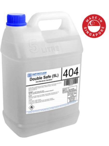 Double Safe 404 NEA Approved Alcohol Hand Sanitiser (Foodgrade)