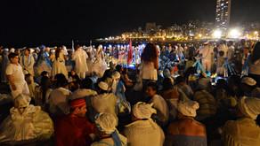 Argentinos saúdam a Iemanjá com celebração africanista