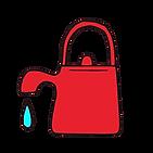 【ロゴ】 やかん 赤・透過.png