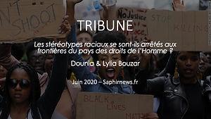 Tribune Dounia et Lylia Bouzar juin 2020