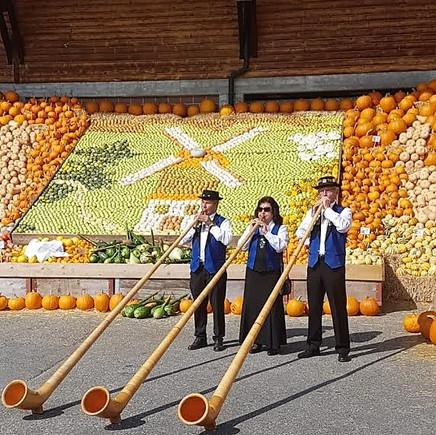 Alphorn Trio am Chürbisfest Rothenburg