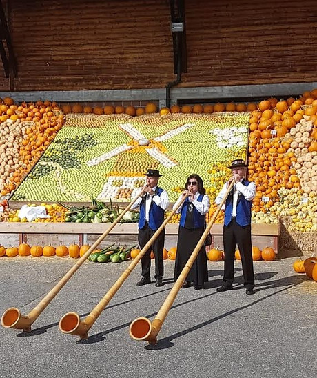 Alphorn Trio am Chürbisfest Rothenburg