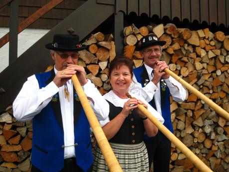 Alphorn Trio «Gruss vom Sempachersee»
