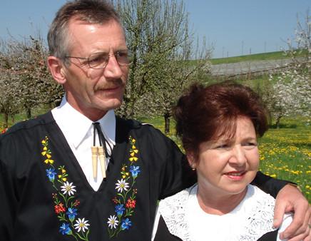 """Das """"Alphorn Duo Mani"""""""