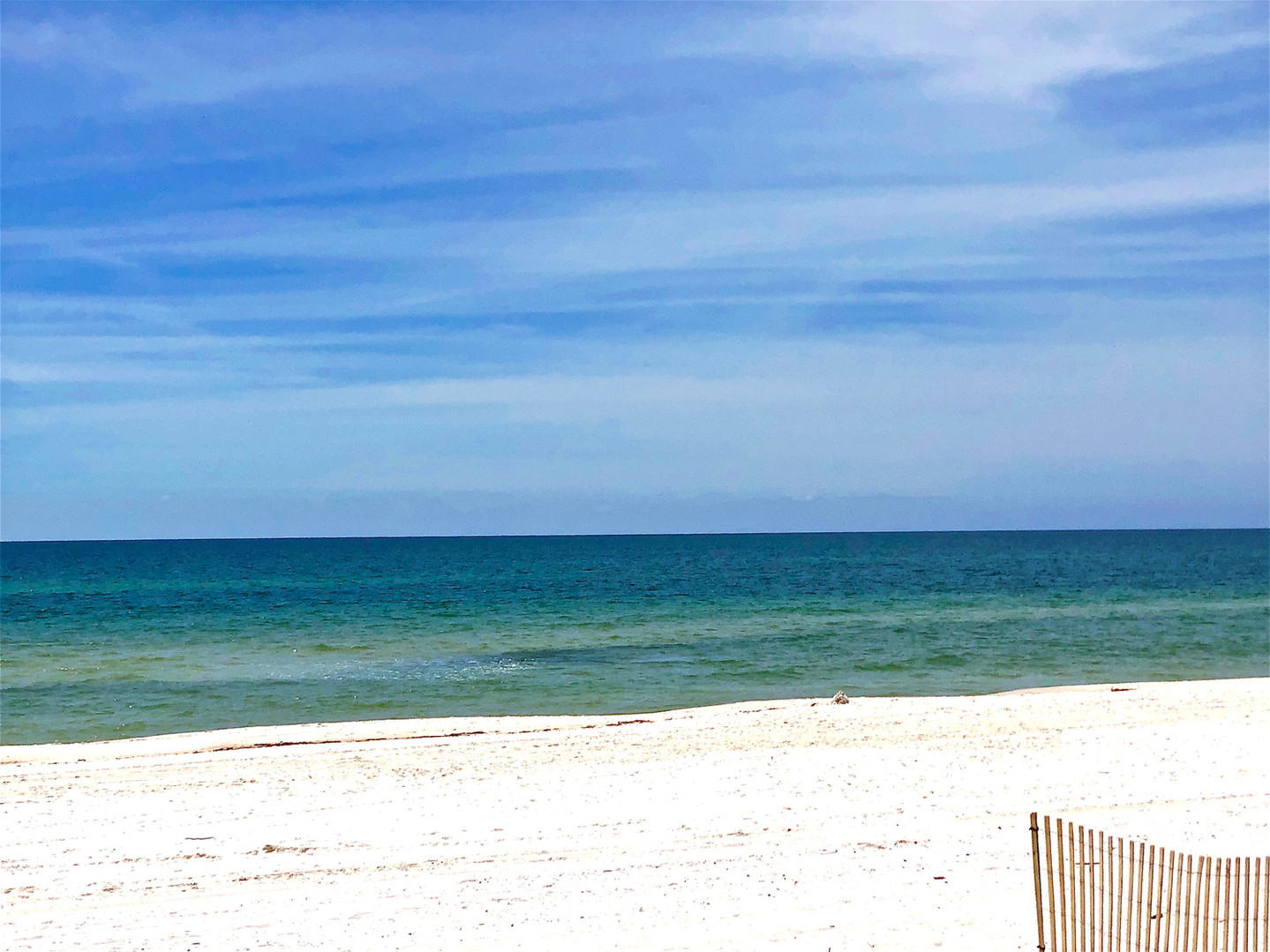Beautiful water and sugar white sand