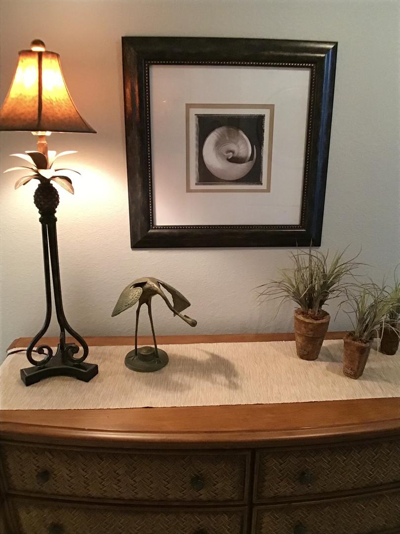 Nice dresser in master suite