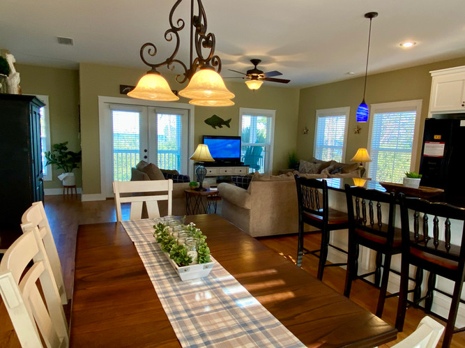 Dining Area in Open Concept Space