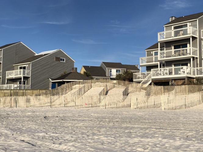 Working to Help Rebuild Dunes