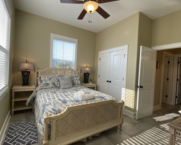Queen Bedroom on First Level