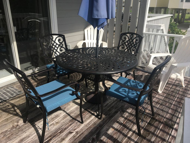 Wonderful outdoor seating