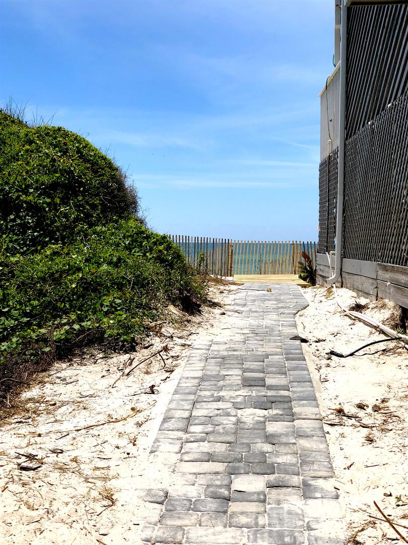 Path to Beach Ramp Access