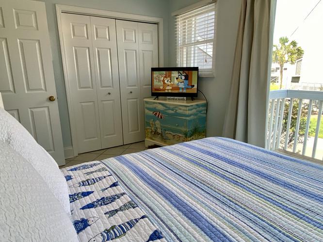 17 First Floor Bedroom with Flat Screen
