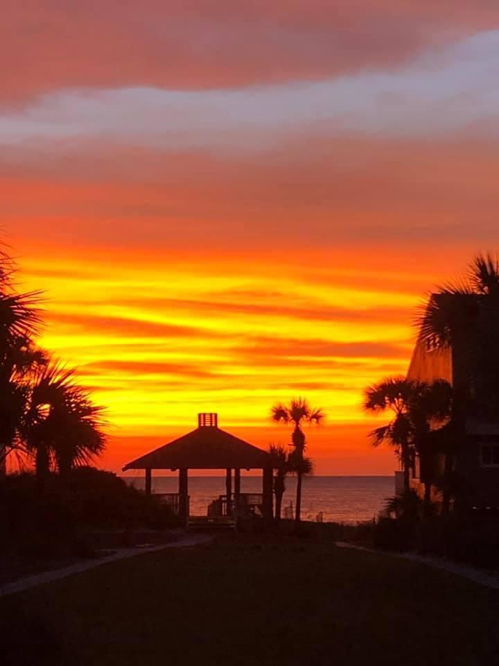 Amazing sunset at Tipsy Turtle