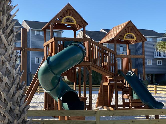 Excellent playground equipment