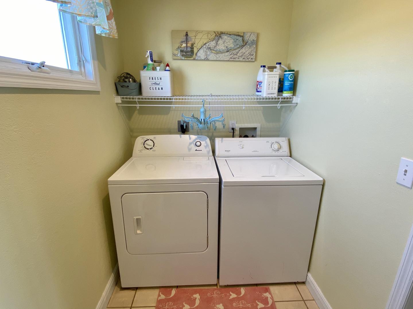 Laundry room on second floor