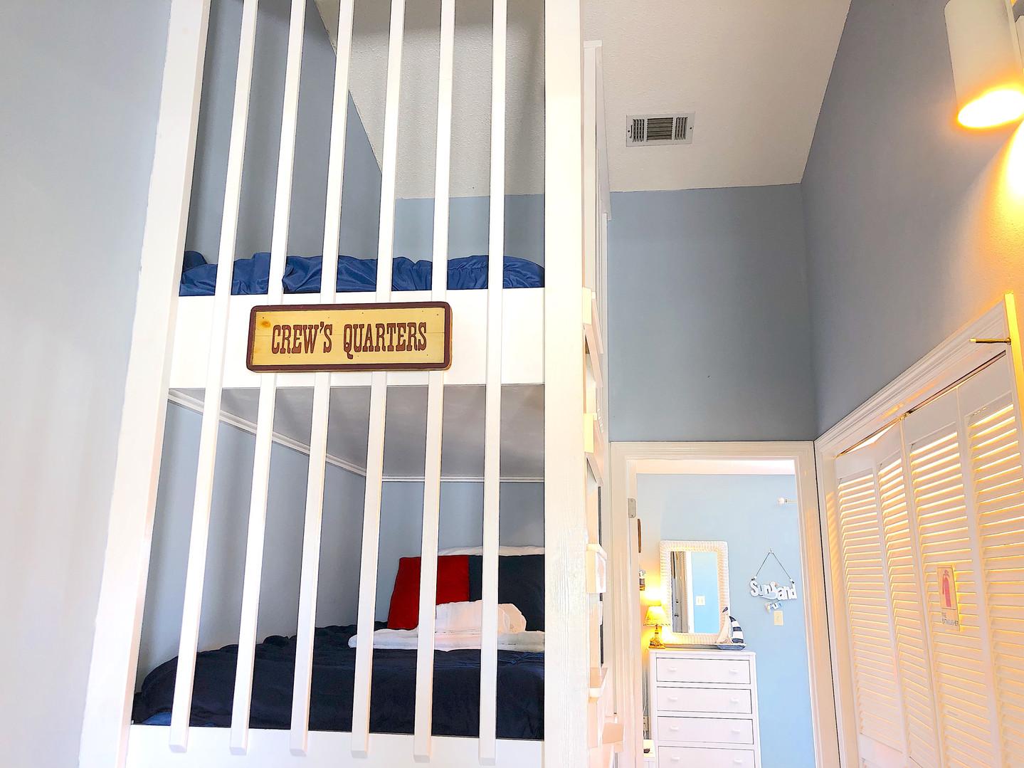 Hallway bunk beds