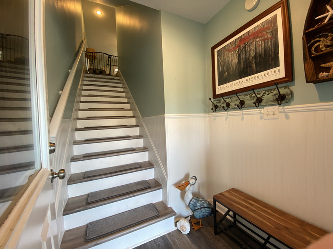 Entry and stairway