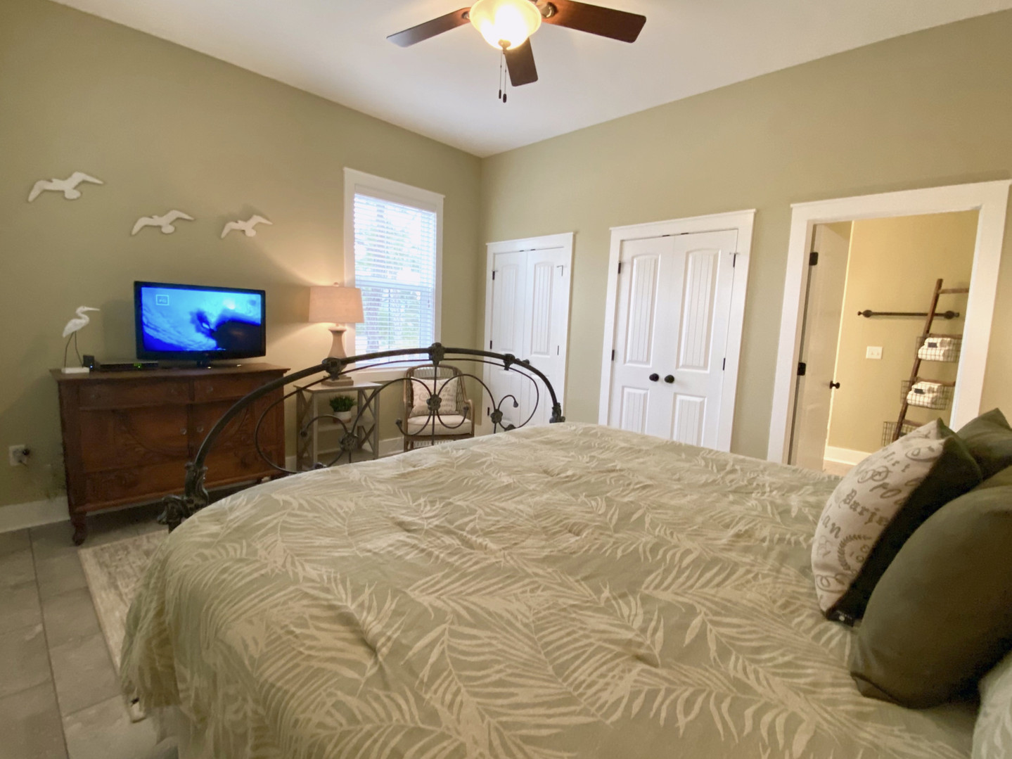 C First Floor Master Suite with Private